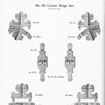 Trunk hardware from the 1915 JH Sessions Catalog