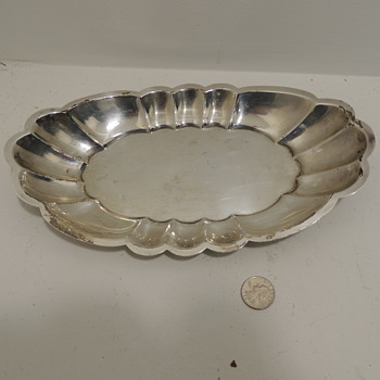 Sterling Silver Plate/Tray - REVERE SILVERSMITHS - Sterling Silver