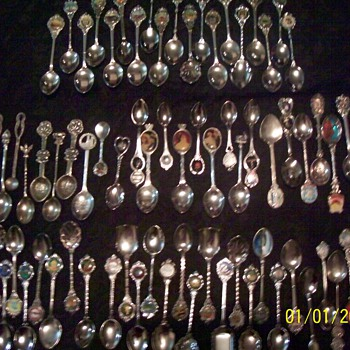 My spoons - Sterling Silver