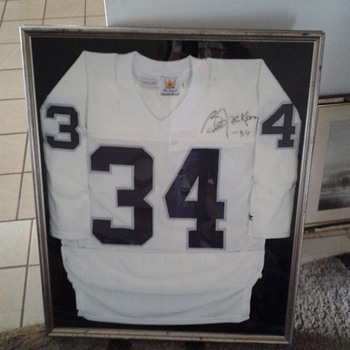 Bo Jackson Game Used Oakland Raiders Jersey - Football