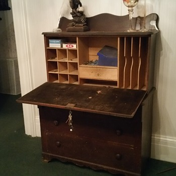 Antique secretary desk!