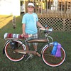 My Son &amp; His favorite Bike &quot;Slo&#039; Poke&quot;...The Rat Bike