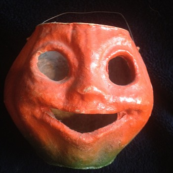 Cardboard Halloween Jack-o-lantern - Advertising