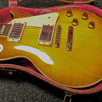 Gibson Les Paul Std 1959, Sunburst - Guitars