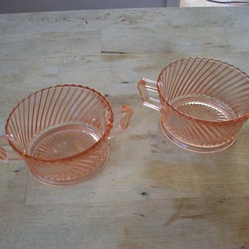 I love depression glass - Glassware