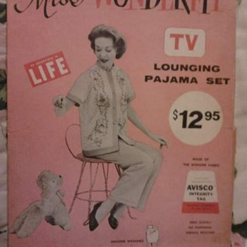 Vintage Lounging Pajamas - Womens Clothing