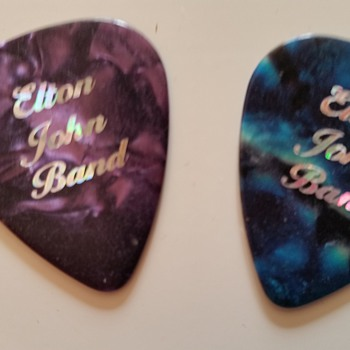 eton john band plectrums - Music