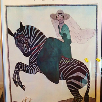 Two Frames for $10  Are Posters special? VOGUE 1926 &amp; 1919