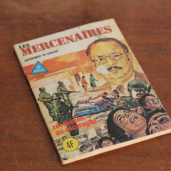 Nicaragua Revolution - Comic Book