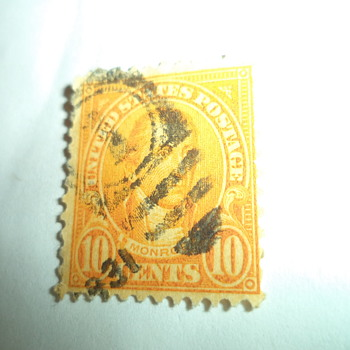 James Monroe 10cents U.S. Stamp - Stamps