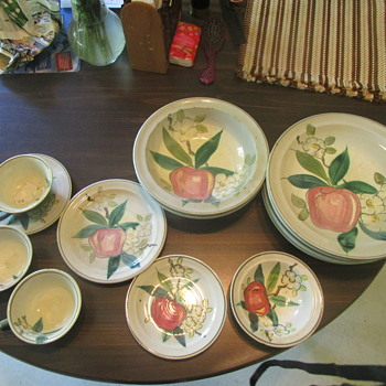 Red Wing Apple Blossom Normandy Collection - China and Dinnerware