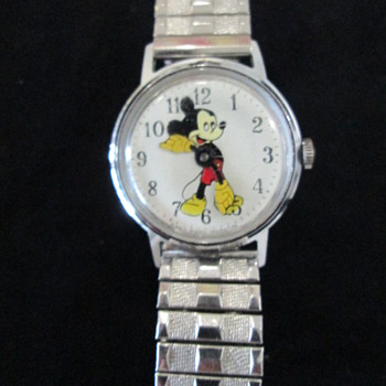 US Time 1960s Mickey Watch - Wristwatches