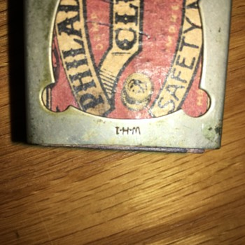 Antique Match Box Holder
