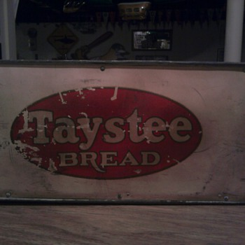Taystee Bread Delivery Box - Advertising
