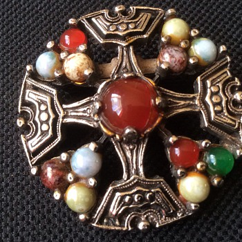 Antique / vintage Celtic brooch