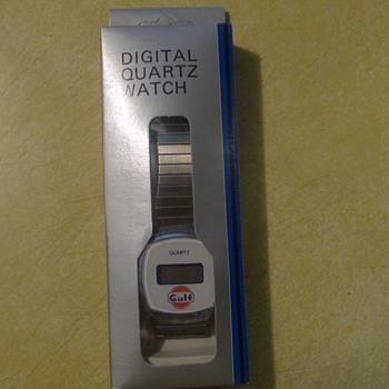 Gulf Digital Quartz Watch - Wristwatches