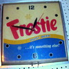 Old Frostie&#039;s Root Beer!  Wall Clock