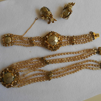 Early unsigned Miriam Haskell ????  - Costume Jewelry