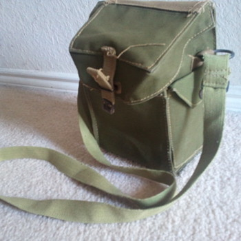 British ww 2 bag