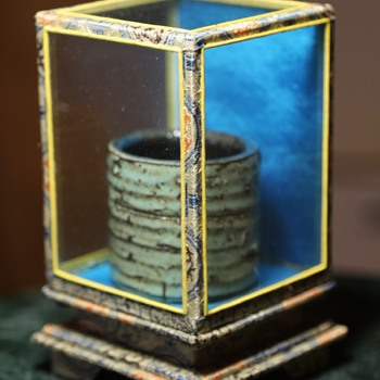Chinese Glass Display Box - Asian