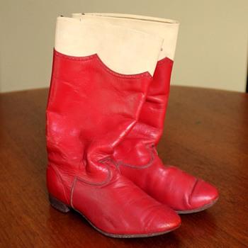 Vintage children's boots
