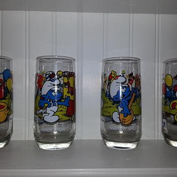 Smurf glassware - Glassware