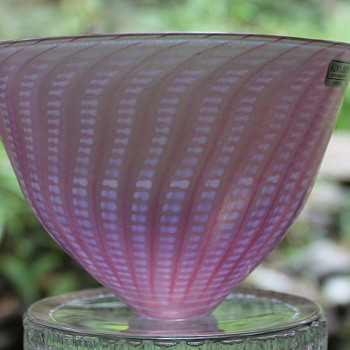 "Kosta Boda ""Minos"" vase - Art Glass"