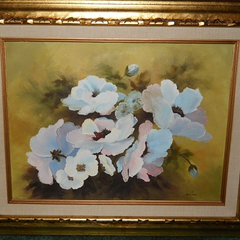 Large Beautiful Oil Painting - Fine Art