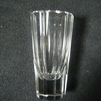 CRYSTAL DRINKING GLASS-SHOT GLASS?High Ball Glass??
