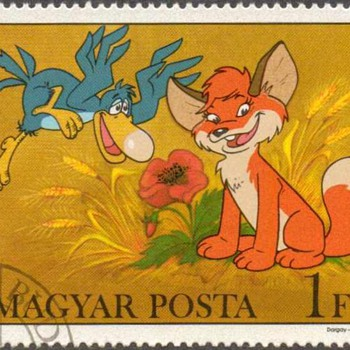 "Hungary - ""Vuk the Fox Cub"" Postage Stamps"