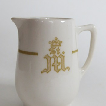 Vintage Creamer, Macdonald & Gehm/Bailey Walker China, Recognize the Logo?