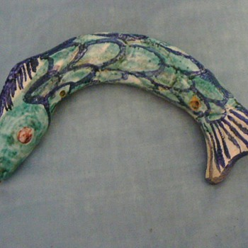 Ceramic fish - Pottery