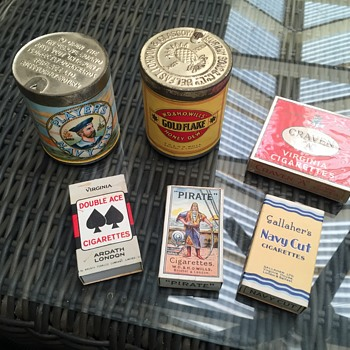 Vintage cigarettes all unopened still full - Tobacciana