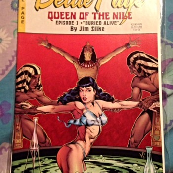 "Bettie Page Queen of the Nile; Episode 1, ""Buried Alive"" by Jim Silke"