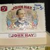 John Hay Cigar Box