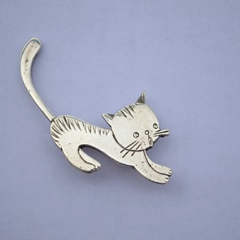 Art Deco Cat Brooch ?