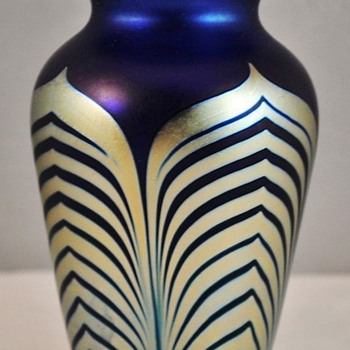 Correia Art Glass Vase