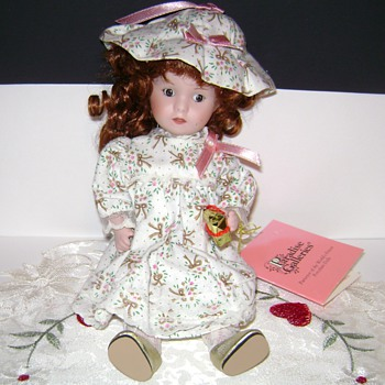 Paradise Galleries Porcelain Doll
