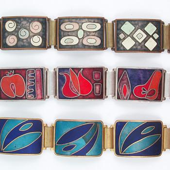 German Matte Enamel Bracelets