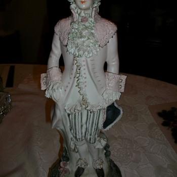 Porcelain Figurine Lamps - Lamps