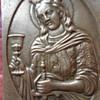 engraved bronze plaque