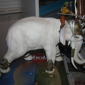 Schleich Warrior Elephant - Animals