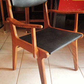 Unknown Danish chair set