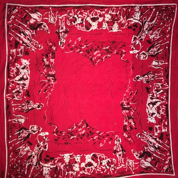 Unknown colorfast  bandanna  pattern