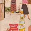 1954 Miller Beer Advertisement