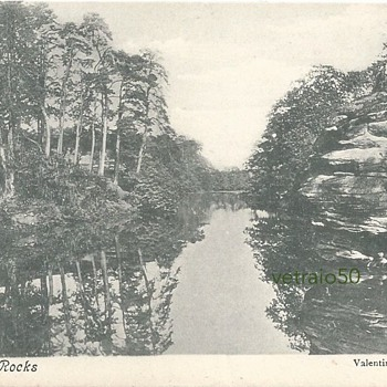 PLUMPTON ROCKS - ON THE TURNER TRAIL - Postcards