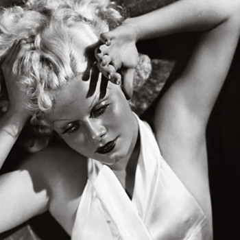 Jean Harlow by George Hurrell  signed by Hurrell