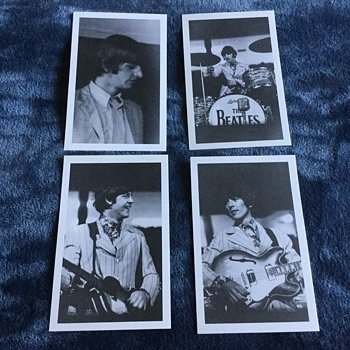 BEATLES  FIRST U.S. TOUR ORIGINAL POSTCARDS - Postcards