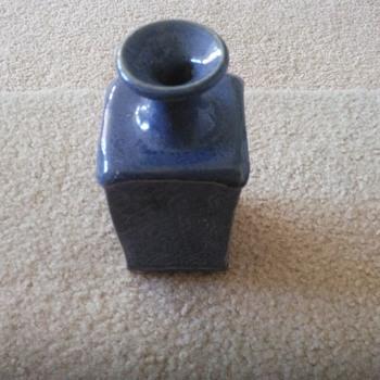 Blue vase - Pottery