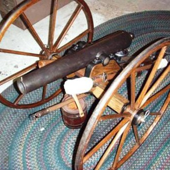 1/2 scale Civil War Howitzer Cannon
